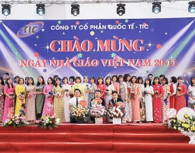 TIC celebrated Vietnamese Teachers' Day on November 20, 2019